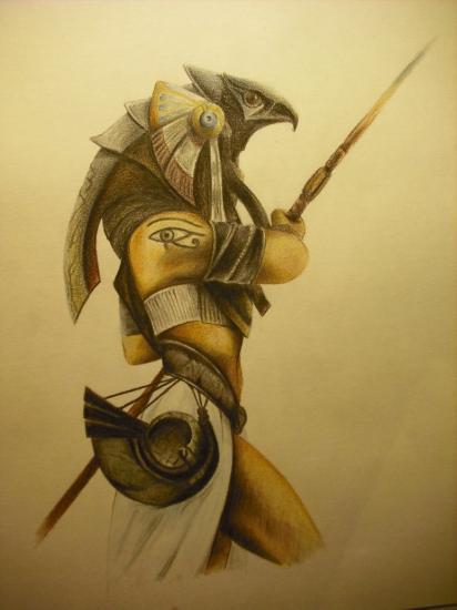 Horus dios egipcio by sorenelrowien d3eswj2