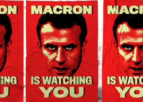 Macron is watching you