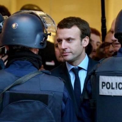 Macron police